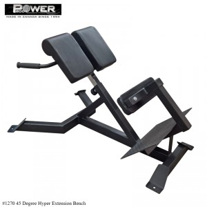 Hyper Extension 45 Degree Bench