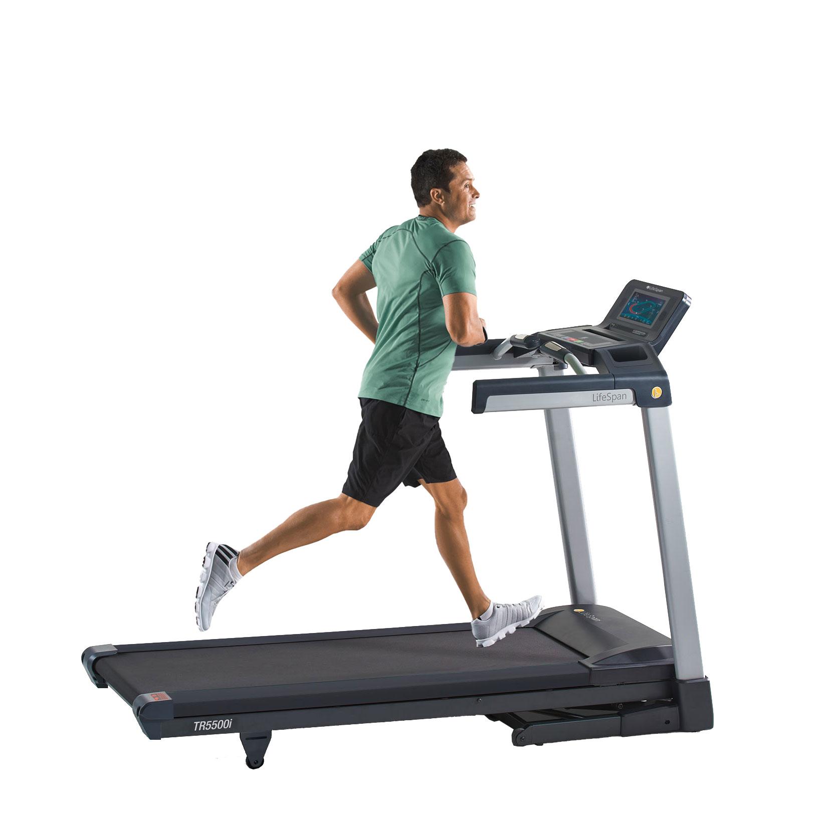 TR5500i Interactive Treadmill